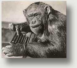 La scimmia e la macchina per scrivere