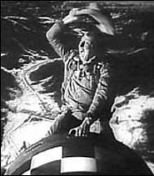 Dr Strangelove rides the bomb