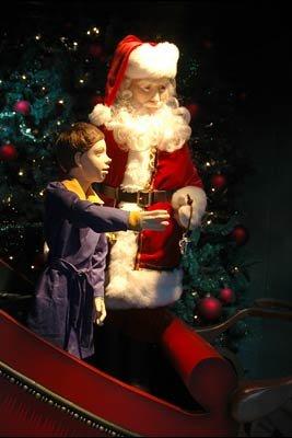 Santa Claus in Polar Express