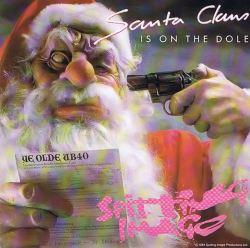 Santa Claus with a gun