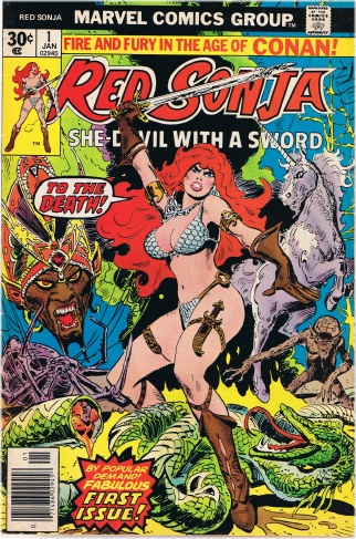 Red Sonja - Frank Thorne
