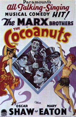 The cocoanuts (1929) movie poster