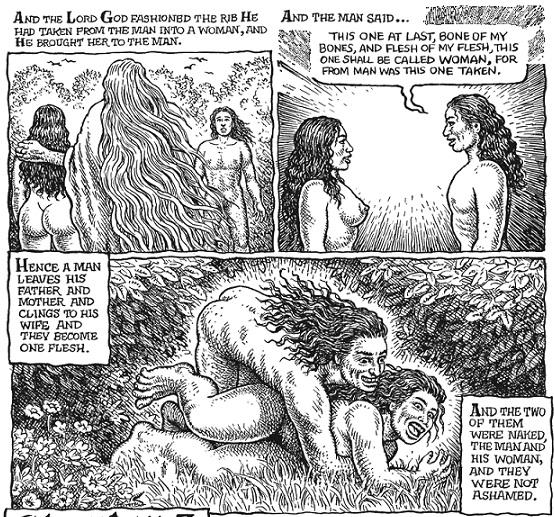 Adamo ed Eva si divertono