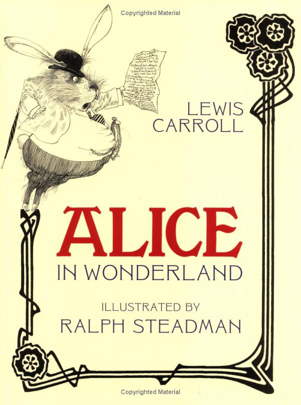 Alice in Wonderland di Lewis Carroll e Ralph Steadman