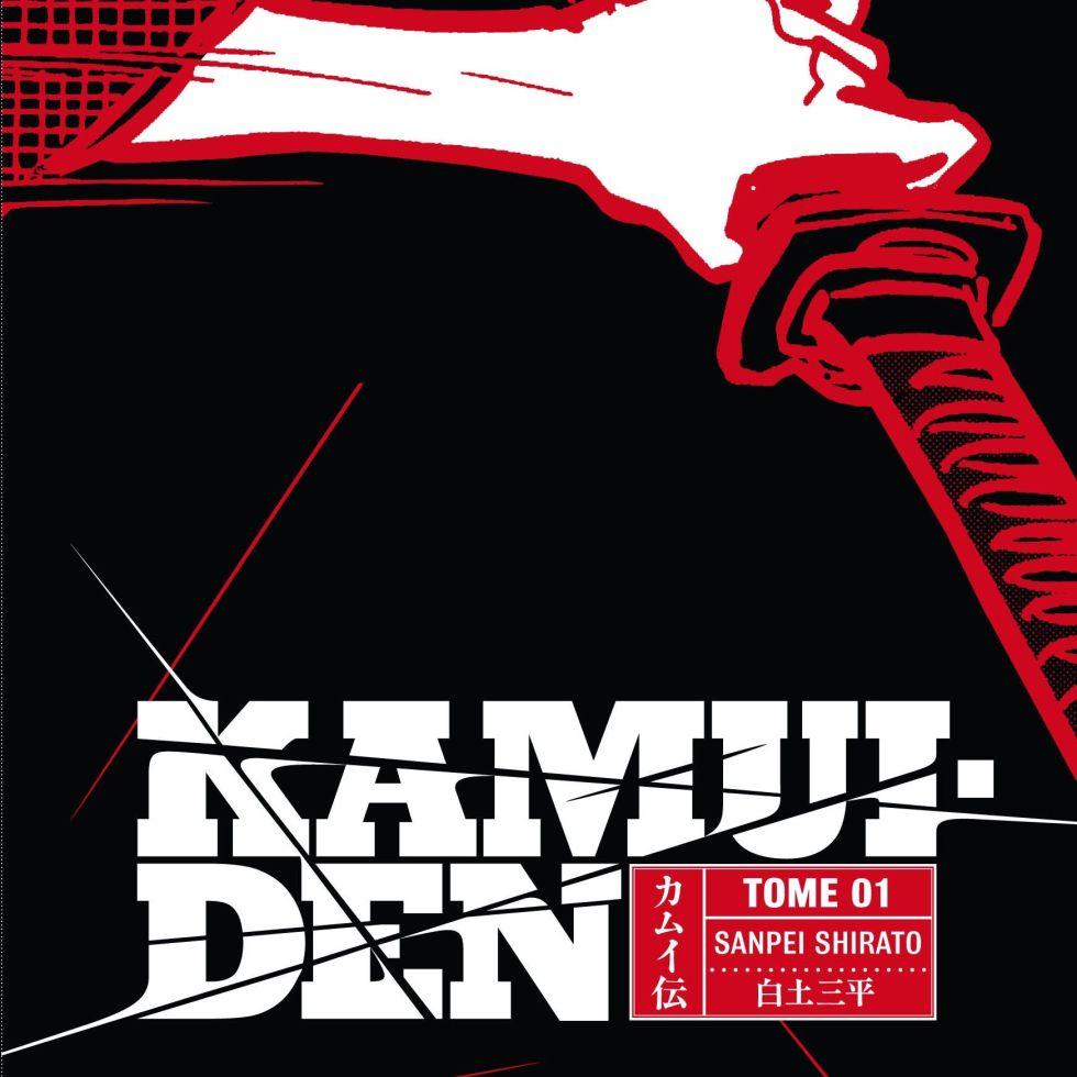 Copertina volume 1 di Kamui Den di Sampei Shirato, Casterman/Kana (ed. fr. 2010)