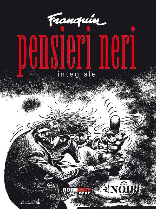 Pensieri Neri di Franquin - copertina