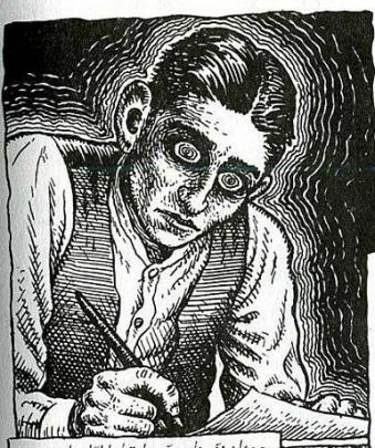 Kafka disegnato da Robert Crumb