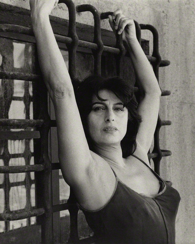 NPG x136345; Anna Magnani by Bob Collins