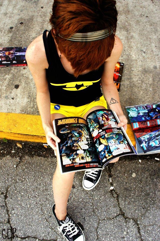 Leggere fumetti è sexy