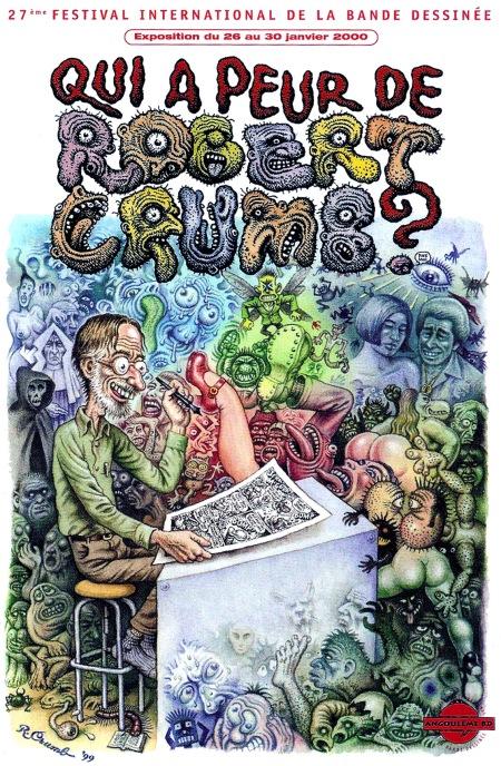 Peur De Robert Crumb
